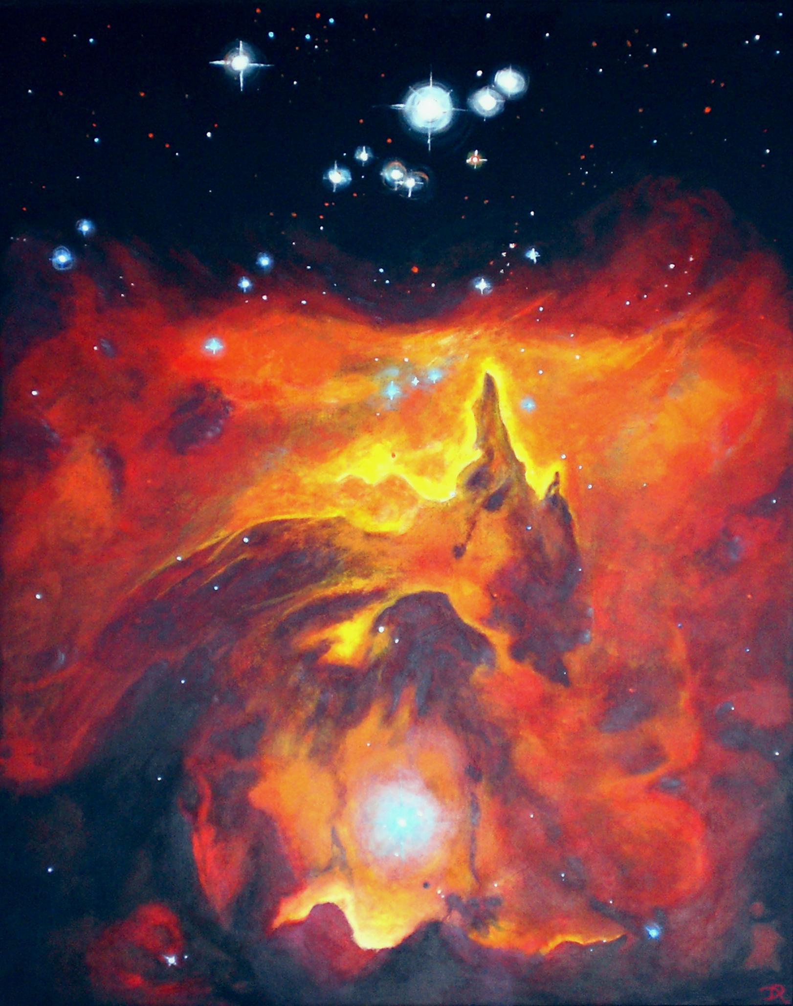 Pismis 24 im Emissionsnebel NGC 6357